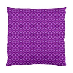 Surface Purple Patterns Lines Circle Standard Cushion Case (Two Sides)