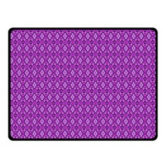 Surface Purple Patterns Lines Circle Fleece Blanket (Small)