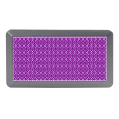 Surface Purple Patterns Lines Circle Memory Card Reader (Mini)