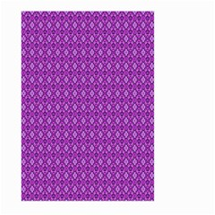 Surface Purple Patterns Lines Circle Large Garden Flag (Two Sides)