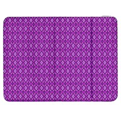 Surface Purple Patterns Lines Circle Samsung Galaxy Tab 7  P1000 Flip Case