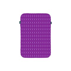Surface Purple Patterns Lines Circle Apple iPad Mini Protective Soft Cases