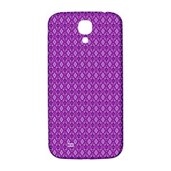 Surface Purple Patterns Lines Circle Samsung Galaxy S4 I9500/I9505  Hardshell Back Case