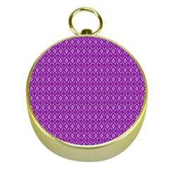 Surface Purple Patterns Lines Circle Gold Compasses