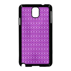 Surface Purple Patterns Lines Circle Samsung Galaxy Note 3 Neo Hardshell Case (Black)