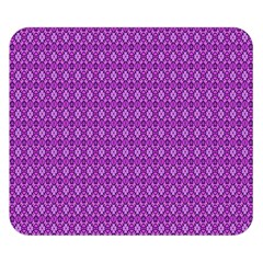 Surface Purple Patterns Lines Circle Double Sided Flano Blanket (Small)