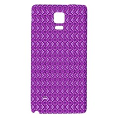 Surface Purple Patterns Lines Circle Galaxy Note 4 Back Case