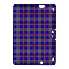 Tartan Fabric Colour Blue Kindle Fire HDX 8.9  Hardshell Case