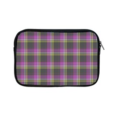 Tartan Fabric Colour Purple Apple iPad Mini Zipper Cases