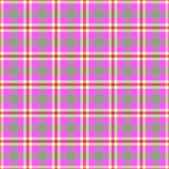 Tartan Fabric Colour Pink Magic Photo Cubes
