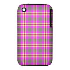 Tartan Fabric Colour Pink iPhone 3S/3GS