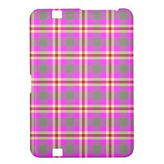 Tartan Fabric Colour Pink Kindle Fire HD 8.9