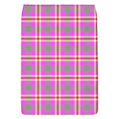 Tartan Fabric Colour Pink Flap Covers (S)