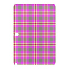 Tartan Fabric Colour Pink Samsung Galaxy Tab Pro 12.2 Hardshell Case