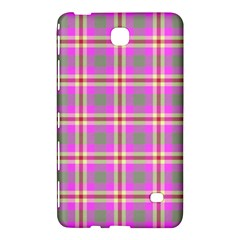 Tartan Fabric Colour Pink Samsung Galaxy Tab 4 (7 ) Hardshell Case