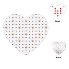 Heart Love Valentine Purple Pink Playing Cards (Heart)