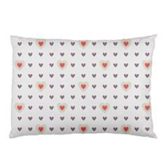 Heart Love Valentine Purple Pink Pillow Case