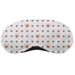 Heart Love Valentine Purple Pink Sleeping Masks