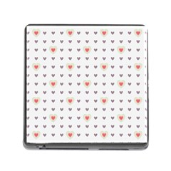 Heart Love Valentine Purple Pink Memory Card Reader (Square)