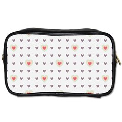 Heart Love Valentine Purple Pink Toiletries Bags
