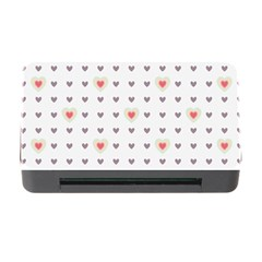 Heart Love Valentine Purple Pink Memory Card Reader with CF