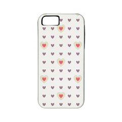 Heart Love Valentine Purple Pink Apple iPhone 5 Classic Hardshell Case (PC+Silicone)