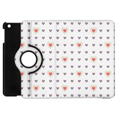 Heart Love Valentine Purple Pink Apple iPad Mini Flip 360 Case