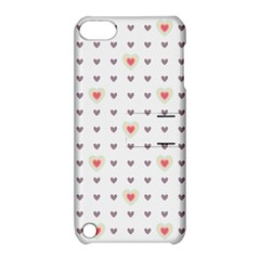 Heart Love Valentine Purple Pink Apple iPod Touch 5 Hardshell Case with Stand