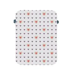Heart Love Valentine Purple Pink Apple iPad 2/3/4 Protective Soft Cases