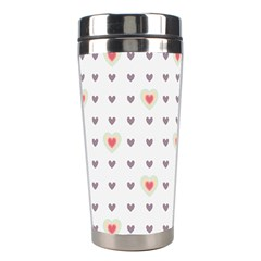 Heart Love Valentine Purple Pink Stainless Steel Travel Tumblers