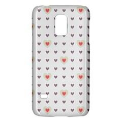 Heart Love Valentine Purple Pink Galaxy S5 Mini