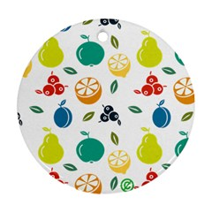 Fruit Lime Ornament (Round)