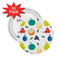 Fruit Lime 2.25  Buttons (10 pack)