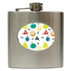 Fruit Lime Hip Flask (6 oz)