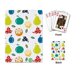 Fruit Lime Playing Card