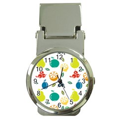 Fruit Lime Money Clip Watches
