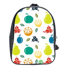 Fruit Lime School Bags(Large)