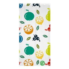 Fruit Lime Shower Curtain 36  x 72  (Stall)