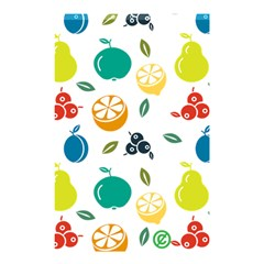 Fruit Lime Shower Curtain 48  x 72  (Small)