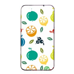 Fruit Lime Apple iPhone 4/4s Seamless Case (Black)