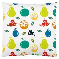 Fruit Lime Large Cushion Case (One Side)