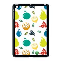 Fruit Lime Apple iPad Mini Case (Black)