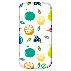 Fruit Lime Samsung Galaxy S3 S III Classic Hardshell Back Case