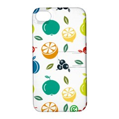 Fruit Lime Apple iPhone 4/4S Hardshell Case with Stand