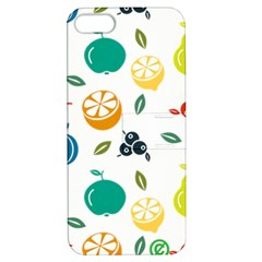 Fruit Lime Apple iPhone 5 Hardshell Case with Stand