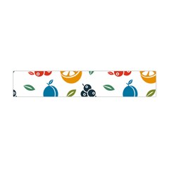 Fruit Lime Flano Scarf (Mini)