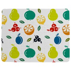 Fruit Lime Jigsaw Puzzle Photo Stand (Rectangular)
