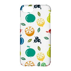 Fruit Lime Apple iPhone 7 Hardshell Case