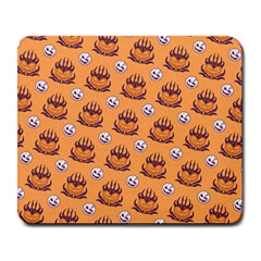 Helloween Moon Mad King Thorn Pattern Large Mousepads