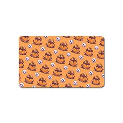 Helloween Moon Mad King Thorn Pattern Magnet (Name Card)